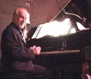 Dave at the piano
